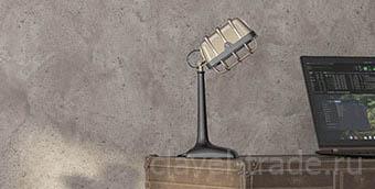 Штукатурки с эффектом бетона - фото