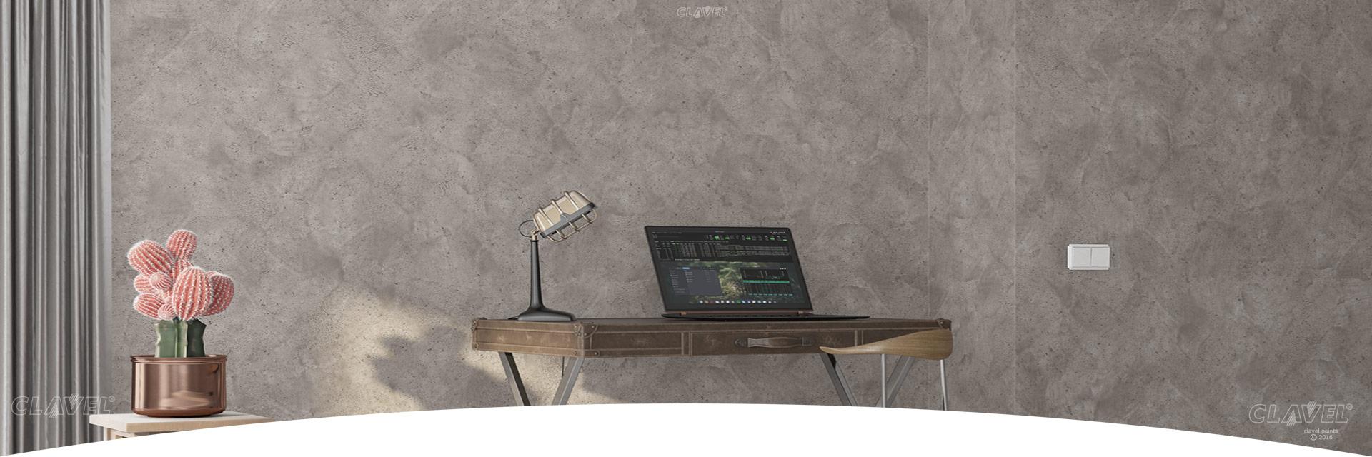 Структурные штукатурки с эффектом бетона - каталог эффектов