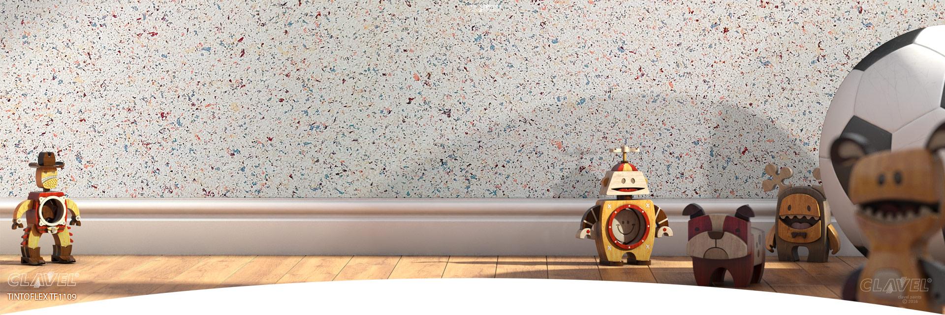 Мозаичные краски - гранитные стены из банки