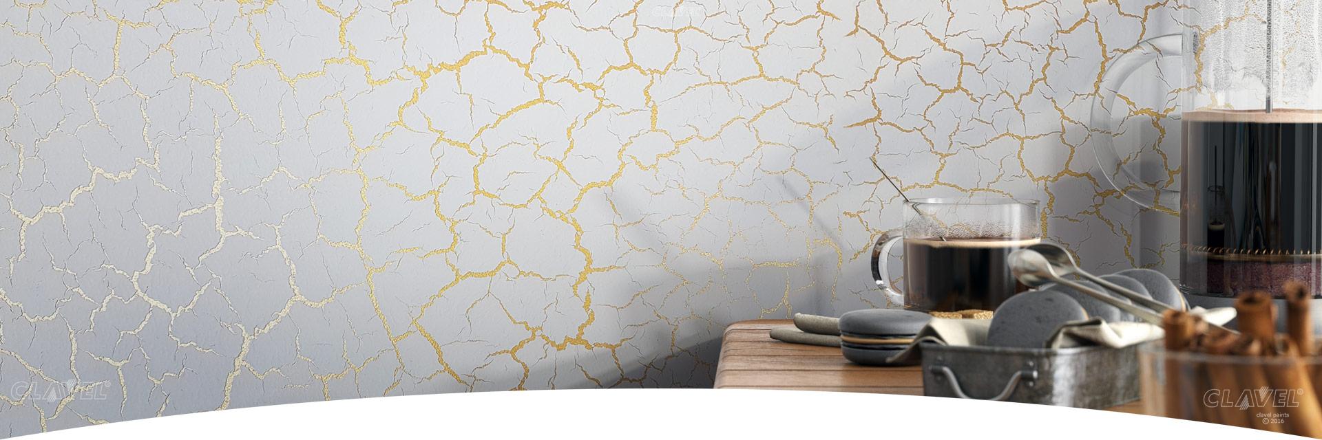 Декоративные краски с эффектом трещин - каталог эффектов